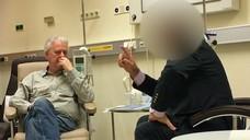 """Gefilmt: Das ARD-Magazin """"Panorama""""   zeigt zwei Zyto-Apotheker, die einen Onkologen bestechen wollen. (Foto: Panorama)"""