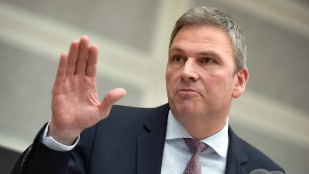Peter Strobel (CDU), im Saarland Minister für Finanzen und Europa, stellt sich gegen die Spahn-Pläne. (s/Foto:imago)