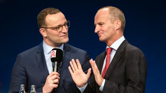 Bundesgesundheitsminister Jens Spahn (CDU) wird am 11. Dezember die ABDA-Mitgliederversammlung besuchen, um den Apothekern seine Entscheidung im Versandhandelskonflikt mitzuteilen. (Foto: Schelbert)