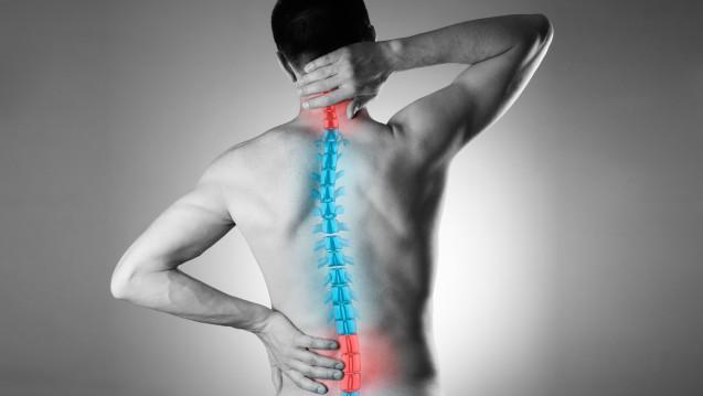 Die Kombi aus Methocarbamol und Paracetamol wird zum Beispiel bei Rückenbeschwerden eingesetzt. (s / Foto: staras / stock.adobe.com)