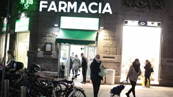 Italien: Fast alle Läden schließen – Apotheken nicht