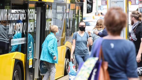 Mindestens 50 Euro Bußgeld für Maskenverweigerer