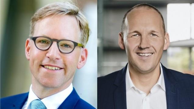 Marc Henrichmann (l.) und Marc Biadacz (beide CDU) gehören dem Petitionsausschuss des Deutschen Bundestages an. (s / Foto: Pressefotos marc-henrichmann.de und marc-biadacz.de)