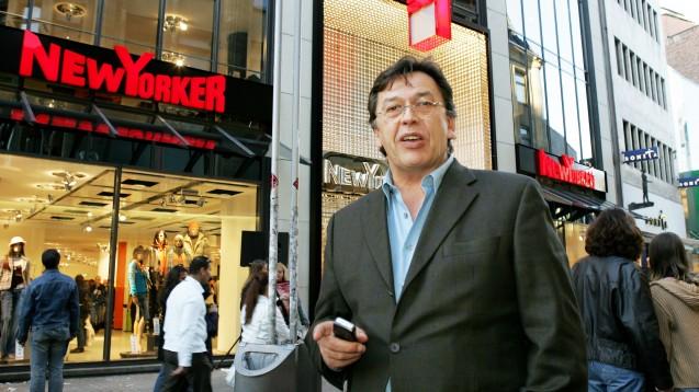 Friedrich Knapp, Chef der Modekette New Yorker, geht gerichtlich gegen Amazon vor. (Foto: dpa)