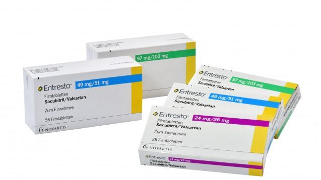 Entresto ist seit Anfang 2016 in der Apotheke zu haben. (Foto: Novartis)