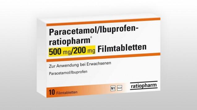 DerSachverständigen-Ausschuss für Verschreibungspflichtempfiehlt eine Schmerzmittelkombination aus Paracetamol und Ibuprofen, den Hustenstiller Quimbo und Dexibuprofen aus der Verschreibungspflicht zu entlassen. (Foto: ratiopharm)