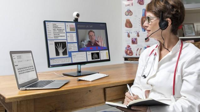 Die Aufhebung des Fernbehandlungsverbotes reicht nicht: Online-Arztpraxen wie DrEd fordern weitere Deregulierungen. (Foto: Imago)