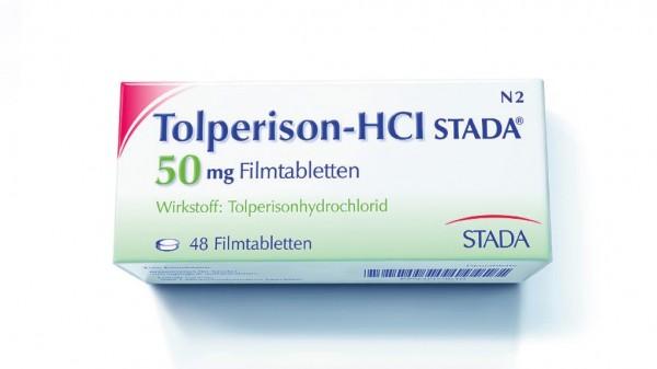 Tolperison erhält Hinweise zu Überdosierung
