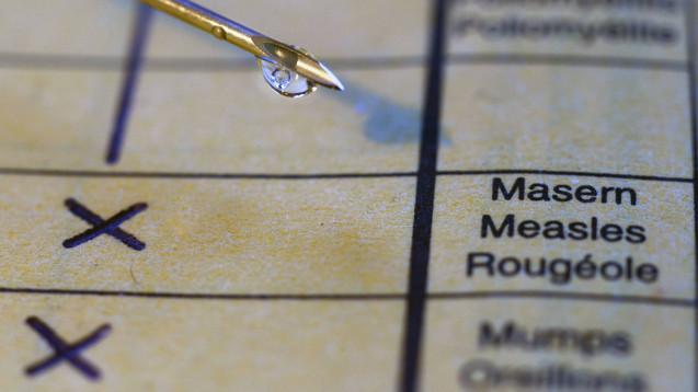 In Frankreich gelten seit dem 1. Januar verstärkte Impfvorschriften. Trotzdem kam es zuletzt zu einem Masernausbruch, bei dem eine Person starb. (Foto: Imago)