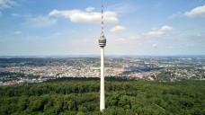 Highlights neben der Interpharm: Der Stuttgarter Fernsehturm wurde 1959 eröffnet. Er war der erste seiner Art. (m / Foto: Manuel Schönfeld                                          / stock.adobe.com)