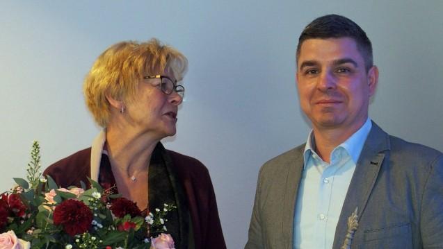 Barbara Stücken-Neusetzer zieht sich nach zehn Jahren an der Spitze der Apotheken-Gewerkschaft zurück und will Privatier sein. Ihr Amt übernimmt nun ein Mann: Andreas May. (Foto: Adexa)