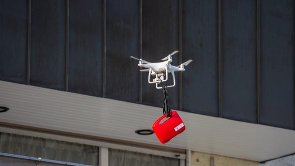 Das Experiment: Wenn Drohnen die Arzneimittel bringen