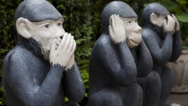 Schweigen – im Einklang mit den Rechtsvorschriften