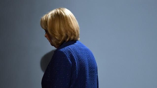 Rücktritt: SPD-Ministerpräsidentin Hannelore Kraft verliert die NRW-Landtagswahl und tritt von all ihren Spitzenämtern in der SPD zurück. (Foto: dpa)