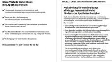 Den Flyer von Wort und Bild können Apotheken auf der Internetseite downloaden. (Foto: Screenshot)