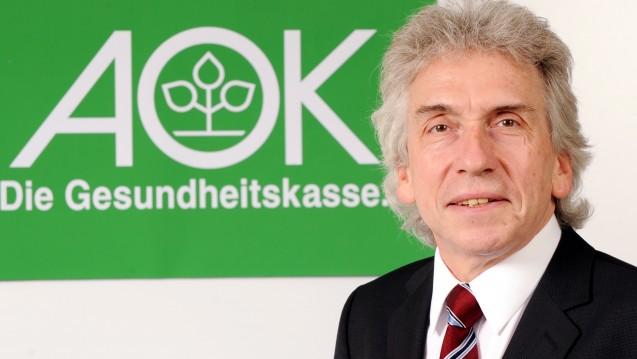 Einer reicht: Die AOK Baden-Württemberg (hier der Vorsitzende Dr. Christopher Hermann) hat die gesamte Impfstoffversorgung im Land für die kommenden zwei Jahre an einen einzigen Rabattpartner vergeben. (Foto: dpa)