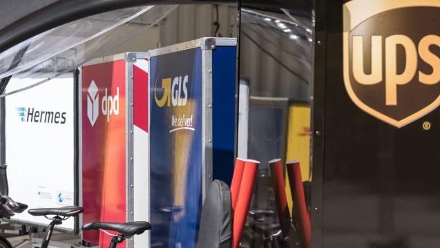Pilotprojekt: In Berlin testen Logistiker die Zustellung mit Cargo-Bikes. (c / Foto: imago)