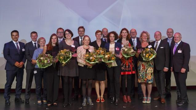 Die Gewinnerinnen des expopharm Medienpreises 2015. (Foto: A. Hagedorn)