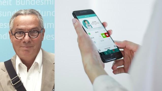 """André Gerber, """"Vater"""" der digitalen Gesundheits-App """"AntiBiotika.Coach"""" ist sehr erfreut über das positive Feedback vieler Nutzer."""