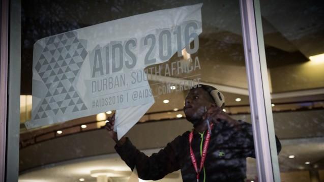 Welt-Aids-Konferenz: 18.000 Forscher und Aktivisten tagen ab Montag in Durban. Zum Start werden auch Prominente erwartet - etwa Prinz Harry und Elton John. (Foto: International AIDS Society/Marcus Rose)