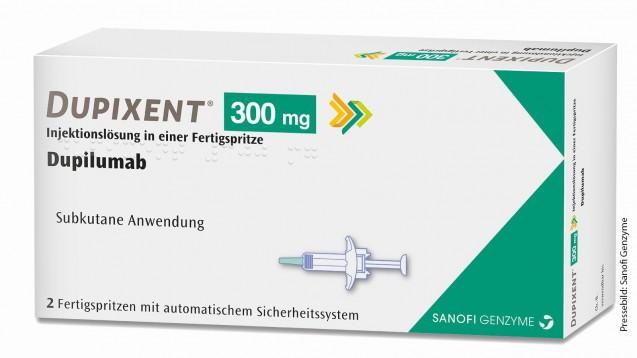 Die Deutsche Dermatologische Gesellschaft empfiehlt Dupixent jetzt für Erwachsene und Jugendliche mit atopischer Dermatitis. (Quelle: Sanofi Genzyme)