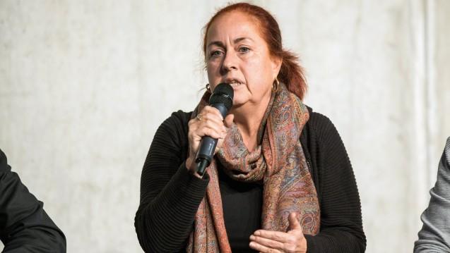 Linken-Arzneimittelexpertin Sylvia Gabelmann fordert die Apotheker auf, sich nicht auf den von Jens Spahn angebotenen Deal einzulassen. (j/Foto: Schelbert)