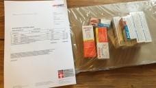 OTC en Masse: Ein Berliner Apotheker bestellte bei mehreren Versandapotheken bedenkliche OTC-Mengen. Die Versender lieferten - ohne Beratung oder Mengeneinschränkungen. (Foto: privat)