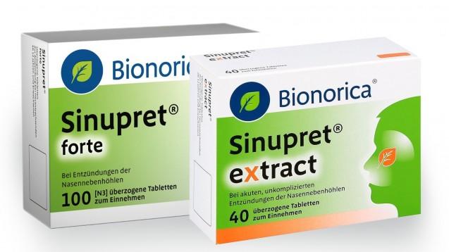 Die AMK erreichten neue Nebenwirkungen unter Sinupret forte und Sinupret extract: schweres Nasenbluten. (s/ Foto: Bionorica)