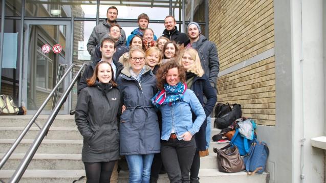 Das Team in Freiburg: Die Fachschaft des Studiengangs Pharmazie organisiert einen Austausch mit Studierenden in Istanbul. (Foto: Pharmazie-Fachschaft Freiburg)