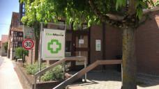 Der inzwischen geschlossene DocMorris-Automat in Hüffenhardt. (Foto: diz)