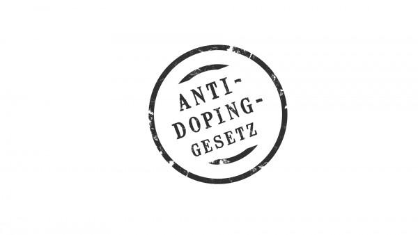 Anti Doping Gesetz