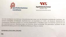 Die gemeinsame Erklärung wurde gestern im Rahmen der 5. Münsteraner Gesundheitsgespräche vorgestellt. (Foto: jb / DAZ.online)