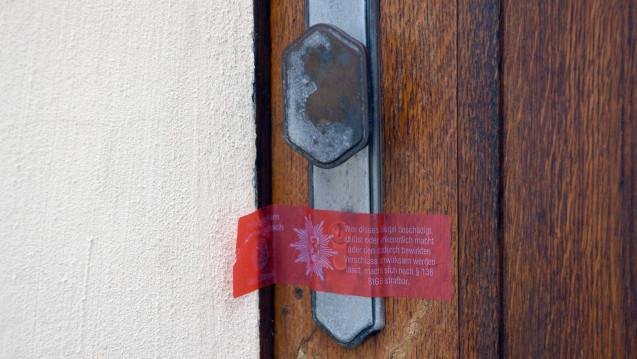 """Das """"Biologische Krebszentrum"""" des Heilpraktikers in Brüggen-Bracht wurde kurz nach den Zwischenfällen geschlossen, doch nun darf er woanders wieder behandeln. (Foto: Henning Kaiser / dpa)"""