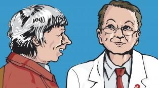 Eine ältere Patientin unter Polymedikation