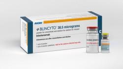 """Der bispezifische Antikörper Blinatumomab zur Behandlung spezieller Formen der akuten lymphatischen Leukämie (ALL) ist in der EU """"unter Auflagen"""" zugelassen. (Foto: Amgen)"""