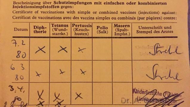 Beratungs Quickie Tetanus Impfstoffe Im Sprechstundenbedarf
