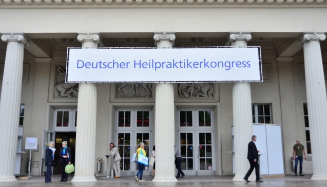 Der Kongress findet jährlich in der Stadthalle in Karlsruhe statt. (Fotos: hfd / DAZ.online)