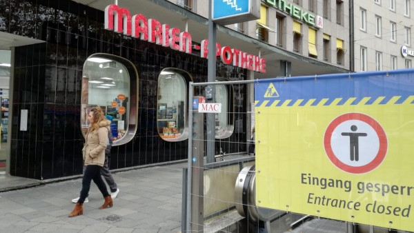 """Baustellenärger in München: """"Die Laufkundschaft ist erstmal weg"""""""