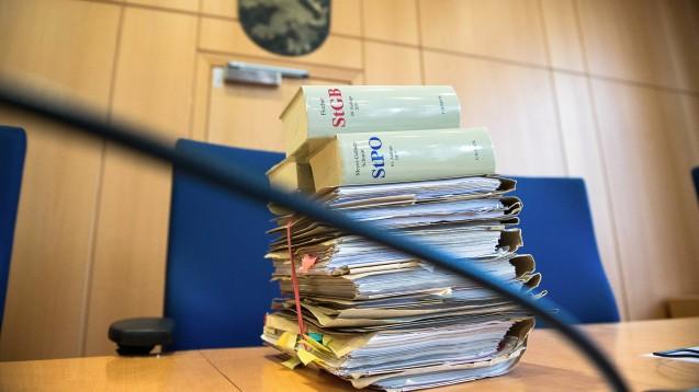 Vor dem Landgericht Frankfurt startete heute der Prozess gegen zwei Männer, die illegal mit Arzneimitteln gehandelt haben sollen (Symbolbild). (m / Foto: imago images / rheinmainfoto)