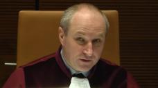 EuGH-Generalanwalt Maciej Sznupar in Aktion. Folgt der Generalgerichtshof seiner Einschätzung? Für einzelne Apotheker könnte dies dramatische Folgen haben. (Screenshot: DAZ.online / EC)