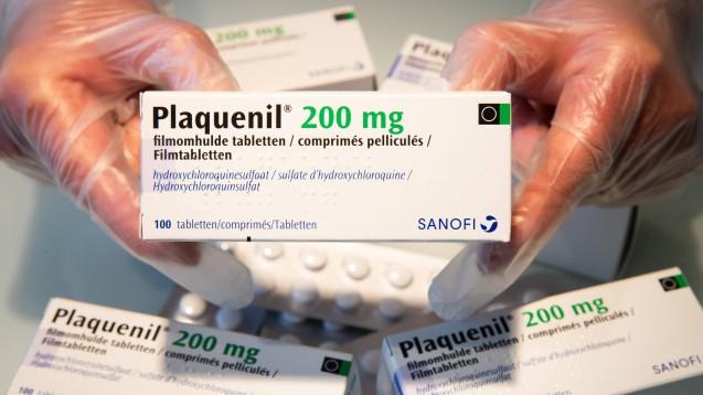 Steht den Malaria-Arzneimitteln Chloroquin und Hydroxychloroquin im Einsatz bei COVID-19 ein endgültiges Aus bevor? Noch ist die Datenlage unklar, auch wenn bereits viele Risiken bekannt sind. ( r / Foto: imago images / Belga)