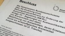 Die zweite Tranche der Substitutionsausschlussliste ist in der Entstehung. (Foto: DAZ)