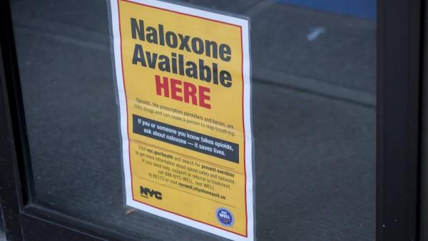 Weniger Tote, wenn Apotheker Naloxon abgeben dürfen