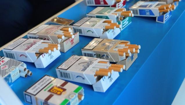 Die CDU-Delegierten durften probieren: Auf dem Bundesparteitag bot Philip Morris seine Produkte an. (Foto: hfd / DAZ.online)