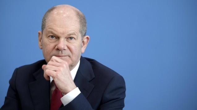 Geht als Kanzlerkandidat für die SPD ins Rennen: der amtierende Vizekanzler und Bundesfinanzminister Olaf Scholz. (Foto: IMAGO / IPON)