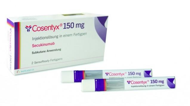 Der Antikörper Cosentyx scheint bei Psoriasis-Arthritis auch längerfristig zu wirken. (Foto: Novartis)