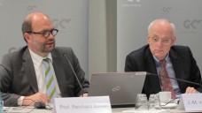 Prof. Dr. Reinhard Busse stellte heute seine Studie zur Arzneiversorgung für den GKV-Spitzenverband vor. (Foto: Sket)
