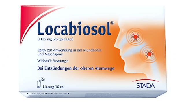 Apotheken sollen ihre Restbestände Locabiosol zurücksenden. (Foto: Stada)