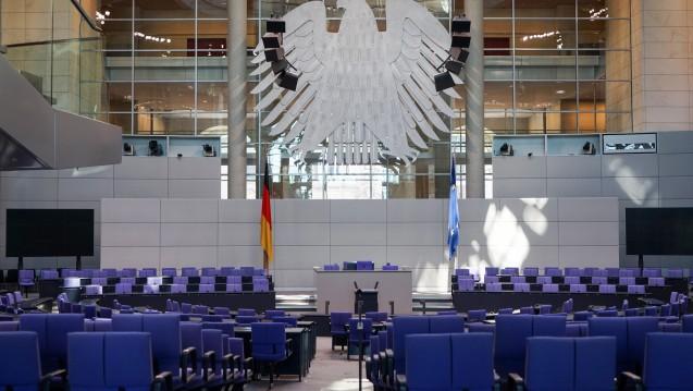 Im Bundestag fand am Donnerstag die erste Lesung des AMVSG statt. (Foto:dpa)