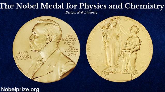 Die Nobelpreis-Münze für besondere wissenschaftliche Leistungen. (Bild: Nobelprize.org)